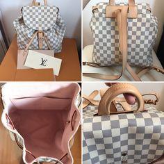 990ae768f Louis Vuitton sperone backpack Depop jayt1988 Louis Vuitton Backpack, Louis  Vuitton Damier, You Bag