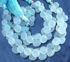 3x6 Inches StrandWholesale Offer Peru Aqua Blue by Raregemstone, $114.99