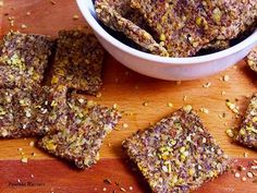 Hemp almond flax crackers are the perfect gluten free, grain free cracker to accompany any meal. Homemade hemp almond flax crackers are grain free, gluten free and every bit as delicious as a Triscut cracker! | bitesofwellness.com #crackers #glutenfree #grainfree