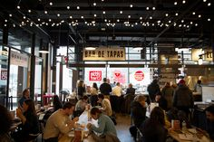Go West to Sample the World, Restaurant Review: Gotham West Market in Hell's Kitchen