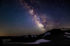 Rainier under Milky Way  After midnight and before moonrise it's the prime time to take a shot of the Milky Way. The slop of Mt. Rainier serves as the foreground.  Camera: Canon EOS 5DS R Lens: 20mm F1.4 DG HSM   Art 015 Focal Length: 20mm Shutter Speed: 20sec Aperture: f/1.4 ISO/Film: 2000  Image credit: http://ift.tt/2a7VE9m Visit http://ift.tt/1qPHad3 and read how to see the #MilkyWay  #Galaxy #Stars #Nightscape #Astrophotography