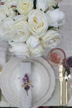 Place setting with g