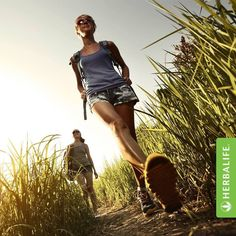 Sabías que el mero hecho de caminar a ritmo alto unas horas a la semana, mejora tu salud? #Herbalife