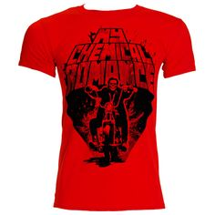 My Chemical Romance Ridin' Out T Shirt (Red) Need one!