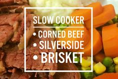 Everything you need to know about slow cooking corned beef/silverside!