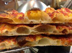 TEGLIA ROMANA ALTA IDRATAZIONE SOLO CON LIEVITO MADRE - Pizza in teglia