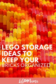 LEGO Storage Ideas! Keep your LEGO bricks neat and tidy with these great ideas. #lego #organization #legostorage #legoorganization #legobricks #gettingorganized #toys Cool Lego, Cool Toys, Backpacking Europe Tips, Lego Storage, Storage Ideas, Creative Storage, Legoland California, Lego Craft, Best Kids Toys