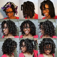 Check out this Flexi Rod video tutorial for relaxed hair and for those transitioning to natural hair. Flexi rods on natural hair makes a protective style, flexi rods on Relaxed Hair. Natural Hair Inspiration, Natural Hair Tips, Natural Hair Journey, Natural Hair Styles, Natural Curls, Au Natural, Going Natural, Afro, Coiffure Hair