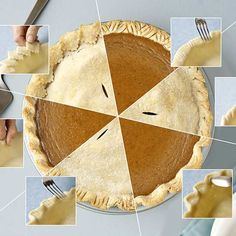A pretty edge puts the ideal finishing touch on your favorite pie recipe. Here we show you how to make different edgings, with recipe recommendations for each piecrust idea.
