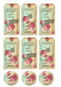 Algumas Tags garimpadas da net pra vocês!   São lindas!  Imprima e use-as nas suas peças!