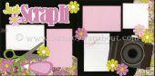 Just Scrap It Scrapbook Page Kit