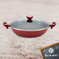 PIN TO WIN: Farberware® New Traditions Farberware  12.5'' Nonstick Family Pan