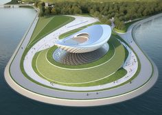 #Expo 2010 ARC River Culture Pavilion by Asymptote