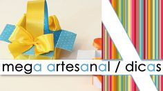 """MEGA ARTESANAL / DICAS / LU GASTAL"""
