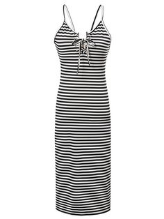 Buy it now. Black and White Spaghetti Strap Backless Dress. Black and White Casual Polyester Spaghetti Strap Sleeveless Sheath Midi Fabric is very stretchy Summer Slip Dresses. , vestidoinformal, casual, camiseta, playeros, informales, túnica, estilocamiseta, camisola, vestidodealgodón, vestidosdealgodón, verano, informal, playa, playero, capa, capas, vestidobabydoll, camisole, túnica, shift, pleat, pleated, drape, t-shape, daisy, foldedshoulder, summer, loosefit, tunictop, swing, day, of...