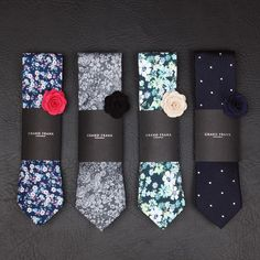 Summer ties Which one would you pick? www.Grandfrank.com