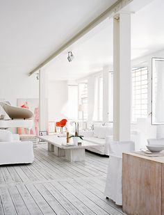 dreams + jeans - Blog - interior envy: whitewashed