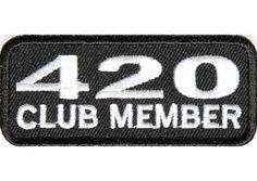 420 club member patch