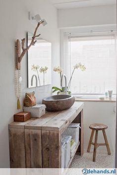Waschtisch steigerhout