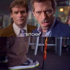 House and the flame cane...golly I miss House =(