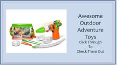 Awesome Outdoor Adventure Toys From Green Ant Toys Online Toy Store www.greenanttoys.com.au