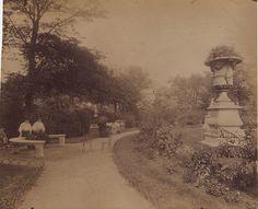 Jean-Eugene-Auguste Atget - Tuileries Gardens