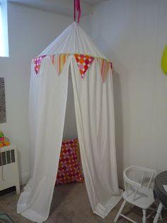 namesake design: Sew Easy Play Tent