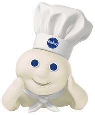smiling pillsbury dough boy