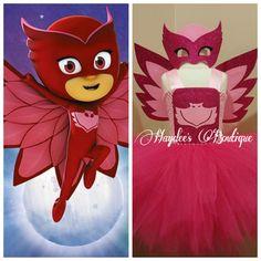 Owlette Tutu Dress by HaydeesTutuBoutique on Etsy