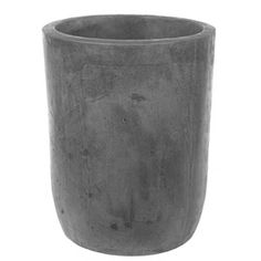 �19-in H x 15-in W x 15-in D Green Concrete Outdoor Planter