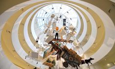 """Maurizio Cattelan's """"All"""" at the Guggenheim. Probably one of my favorite exhibitions I've ever been to."""