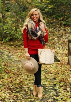 The perfect fall outfit.