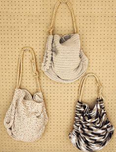 Crochet Summer Totes