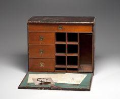 Civil War Officers Desk | 149: 156th NY Civil War Field Desk of Charles W. Kenned