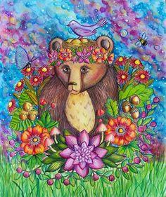 #skymningstimman @maria_trolle #målarbok #adultcolouringbook #colortherapy #coloringsecrets #kolorowamafia #artwork #polychromos #polycolor #prismacolor #bayan_boyan #boracolorirtop #fangcolourfulworld999 #arte_e_colorir #artpalooza #bear #divasdasartes #magdalenagrabowska