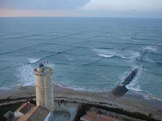 The Cross Sea:  When Two Waves Meet