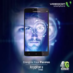 #Videocon Krypton3 V50JG comes with 1.3GHz Quad Core Processor (64-bit) that enhances the multitasking experience at the faster speed.To explore visit - http://www.videoconmobiles.com/krypton3