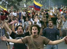 Pray for Venezuela. OP: I know this doesn't have anything to do with this boar but I really need your help to spread the word! I live in Venezuela and it's a beautiful country but has a terrible government and during this couples of days the students started going out on the streets in a pacific way but the police started attacking and killing. Right now we don't have anything and need the world to know our situation! please repin this