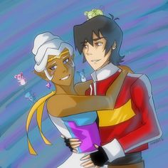 You know you love someone when you can spend the entire night sitting by the fire watching them sleep. Title: I Really Don't Know Love At All Characters: Keith, Allura (Voltron) Media: iPad P...