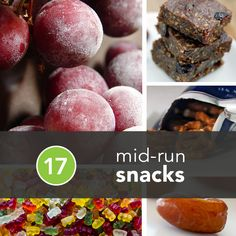 17 Surprising Mid-Run Snacks to Improve Your Marathon | Greatist @Greatist