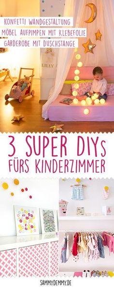 DIY Tipps Fürs Die Gestaltung Im Kinderzimmer: Wandgestaltung Im  Konfetti Look Selber Machen