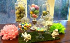 Easter Apothecary Jars - MommyDecorates.com
