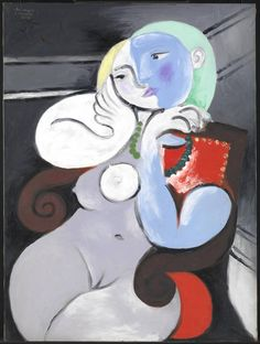 Pablo Picasso - Nude Woman in a Red Armchair, 1932.