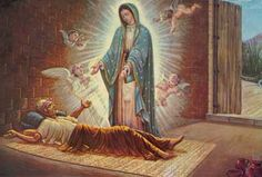 The Apparition of Our Lady of Guadalupe in 1531