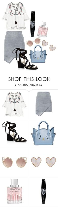"""""""Sans titre #268"""" by leoniemika on Polyvore featuring mode, Talitha, Kenneth Cole, MANGO, New Look et Jimmy Choo"""