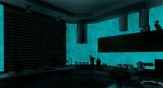 Kuchyňa -  MAGIC LIGHT - fosforujúci náter