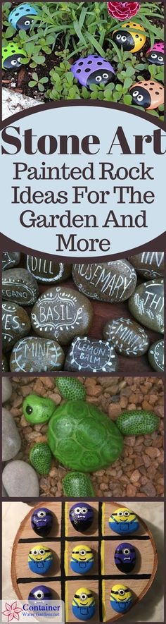 Are you looking for a fun project that adds a touch of whimsy or inspiration to the garden, or maybe just a weekend diversion for the kids? Painted rocks might just be the idea you're looking for. They come in so many variations from funny rocks and cartoon characters to meditative stones and scripture quotes… the ideas are endless.