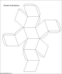 * the paradise of flowers and fruit *: Happy Holiday Polyhedron #1: Non-Denominational Rhombic Dodecahedron!