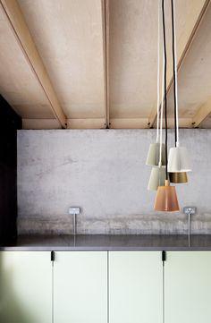 Kitchen. Plywood House by Simon Astridge. #minimal