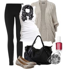 """Comfy Saturday"" by ohsnapitsalycia on Polyvore"